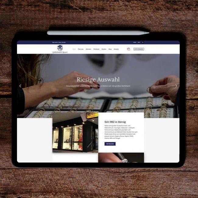 Goldschmiede Reinert Merzig Webshop