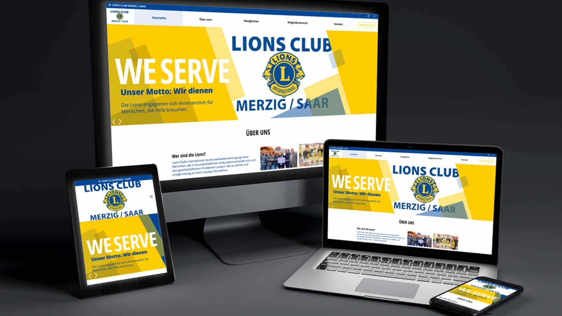 Lions Club Merzig Webseite