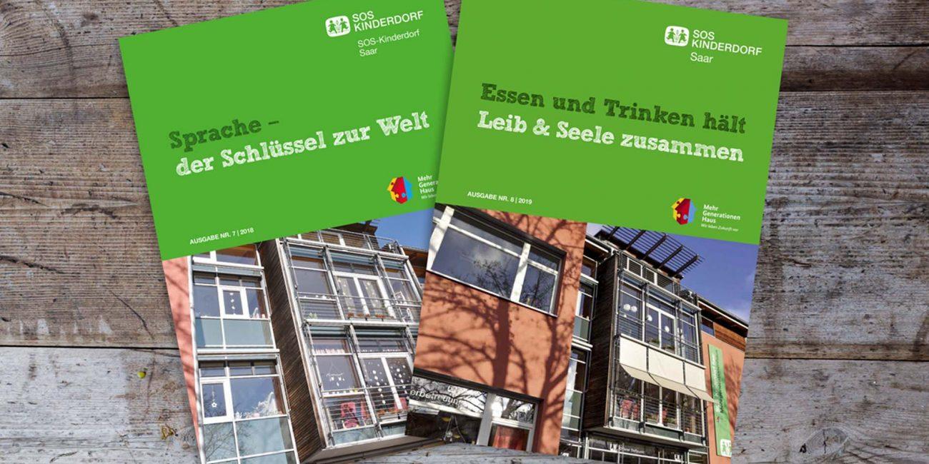 SOS Mehrgenerationenhaus Merzig Broschüre