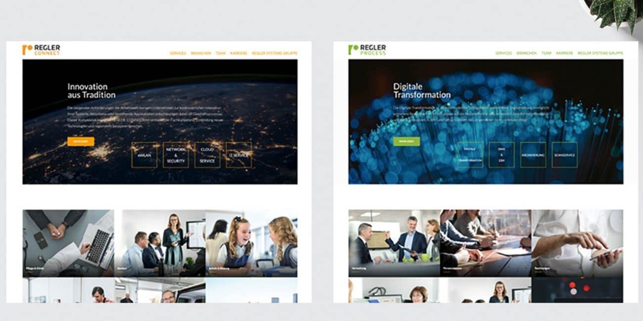 Regler Systems Webseiten