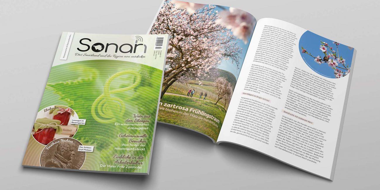 Magazin erstellen Saarland
