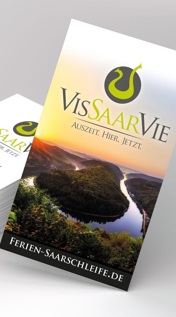 Vis-Saar-Vie Mettlach Visitenkarten